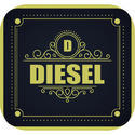 Universal Fuel Tank Square Dome Sticker
