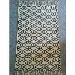 Hand Block Printed Handloom Rugs
