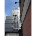 FRP Supporting Stool Type Ladder