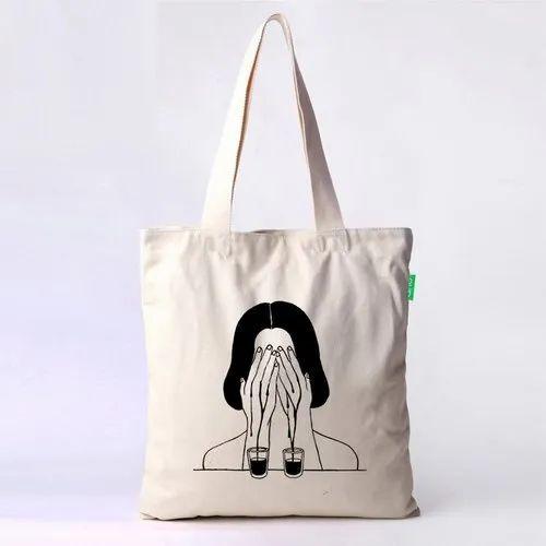 Printed Cloth Shopping Bag