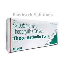 Theo Asthalin Forte tablets