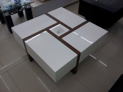 ROYAL COMFORT Teak Wood Center Table....8 Year Warranty