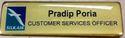 Printed Name Badge