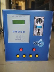 Two Tap Card & Coin Operated Water Vending Machine with GSM
