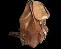Genuine Leather Rucksack Backpack