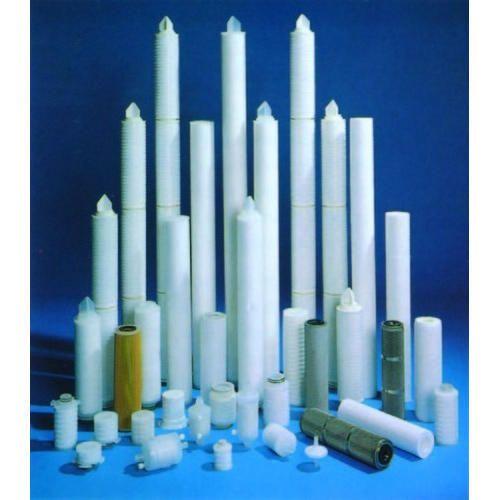 White Plastic Water Filter Cartridge, Size: 1-2 Feet