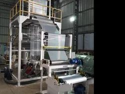 LLDPE Mono Layer Blown Film Extrusion Plant