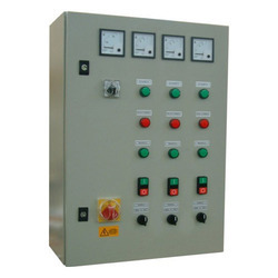 Automatic Star Delta Starter Control Panel