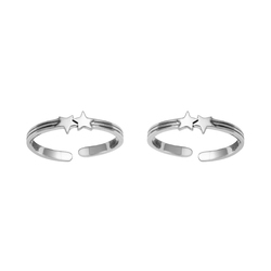 SHTR0055 925 Sterling Silver Toe Ring