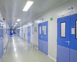 LED MS,SS Modular Clean Room Panel, Polished