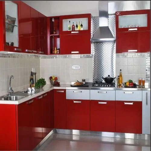 Modular Kitchen At Rs 400 Square Feet 8 Square Modular