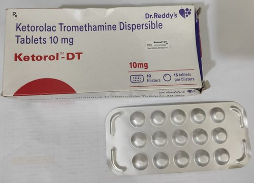 KETOROL-DT 150 Tablets KEROROL - DT 100MG, 10x15, DR. REDDY'S, Rs 100  /strip | ID: 21758005791