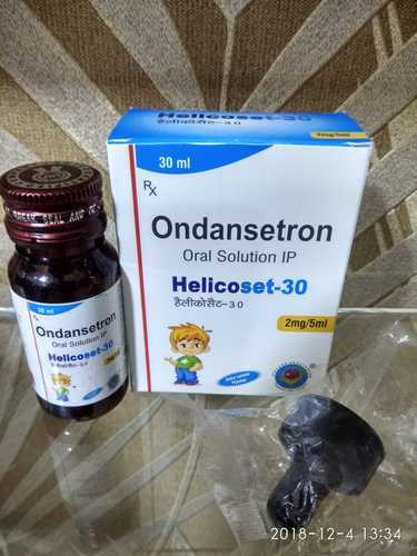 Ondensetron Hydrochloride 2mg Syrup With Droper for Clinical