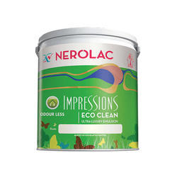 Nerolac Impressions Eco Clean Ultra Luxury Emulsion Paint, Packaging Type: Bucket