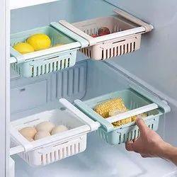CREDENCE MIX CE-122 Fridge Tray Fruits/Vegetables Kitchen Rack (Plastic), Size: Regyular