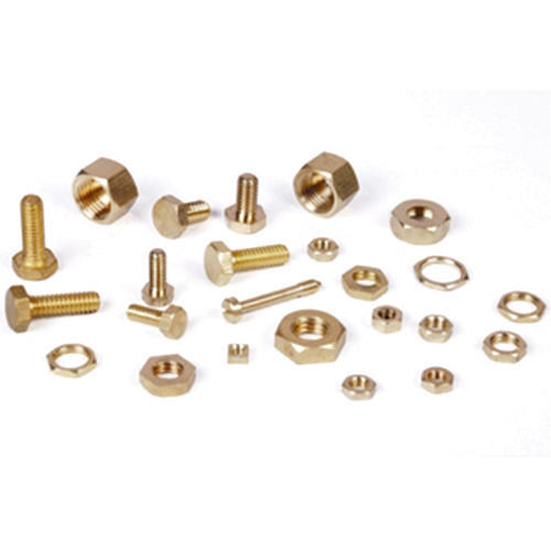 Brass Nut and Bolts Fasteners