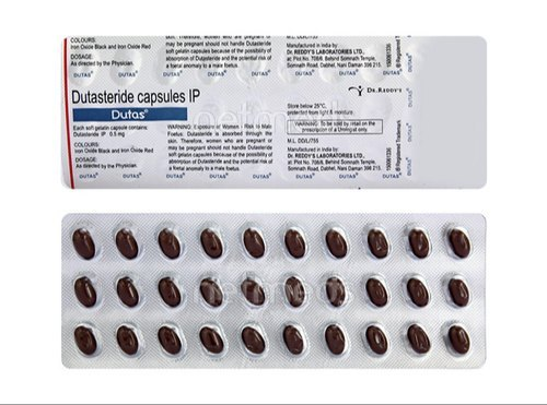 Dutas Capsule Dutasteride 0 5mg Dr Reddy S Laboratories 30 Capsules In 1 Strip Rs 868 Strip Id 22491644097