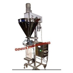 Semi Automatic Auger Filler With Loadcell