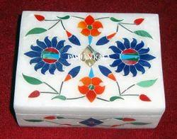 Marble Stone Pill Box