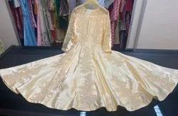 Kids Floor Length embroidered anarkali