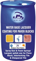 Paver Block Water Base Lacquer Coating