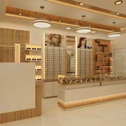 Optical Shop Design Counter - New