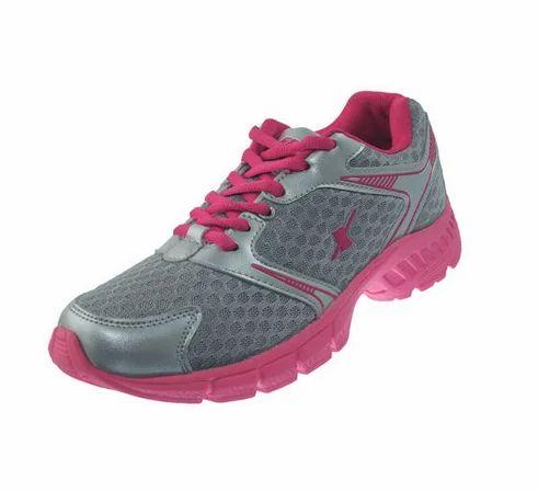 Pvc Mesh Sparx Grey   Pink Ladies Sports Shoes SL-555 9e5e7c2eb