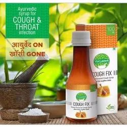Vaidyamrit Cough And Throat Infection Honey Flavor Ayurvedic Syrup
