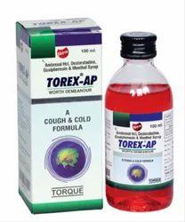 Plastic Torex-AP Cough Syrup, Bottle Size: 60 mL