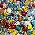 Bumpy Mix Glass Beads