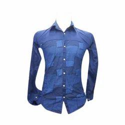 Medium And Large Cotton Mens Casual Shirt
