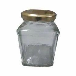 500 ml Square Glass Honey Jar