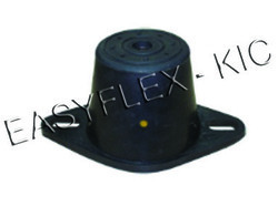 Black Turret Rubber Mountings