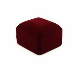 Red Ring Velvet Jewellery Box