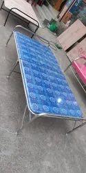 Blue Folding Bed, Size: 6.5*3.5