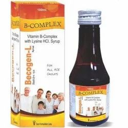 100ml B Complex Syrup, Packaging Size: 100 Ml, Packaging Type: Box