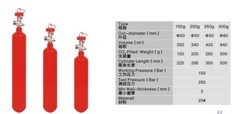 Co2 Gas Type Fire Extinguisher Refilling 4.5 Kg Capacity