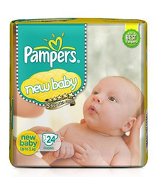Pampers New Baby Diapers New Born 24 Pieces