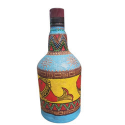 Bottle Hand Painting
