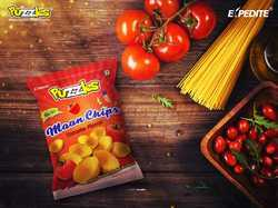 Tomato Flavour Moon Chips