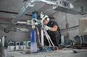25-180mm Aluminium Bosch Core Cutting Machine, For Industrial