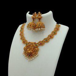 Matte Finish Jewellery Set - H4RG