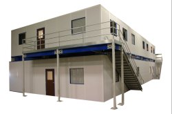 Hot Rolled Sloping/Flat Double Story Pre Engineered Buildings for Warehouse