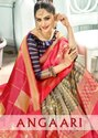 YNF Angaari Banarasi Art Silk Saree Catalog Collection