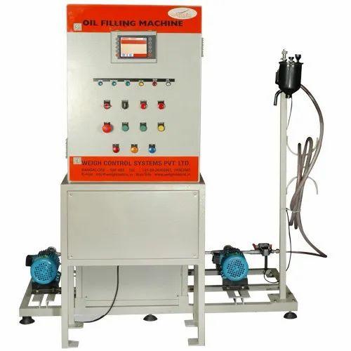 Steering Oil Filling Machine