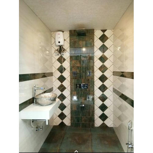 Ceramic Tiles Plain Bathroom Wall Tile