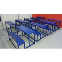 3 Seater MS Dual Desk Bench