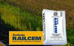 Ambuja Railcem Cement, Packaging Size: 50 Kg