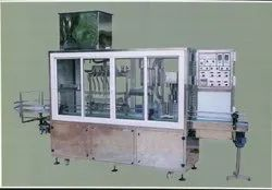 Milk Glass Bottle Filling and Capping Machine