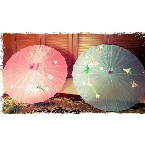 66a010b6fbd25 Oilpaper And Wood Chinese Wooden Oilpaper Umbrella, Rs 180 /piece ...